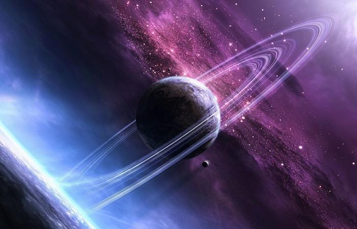Сатурн — гигантская планета.
