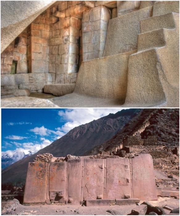 Полигональная кладка из разных типов блоков (Перу).   Фото: laiforum.ru.