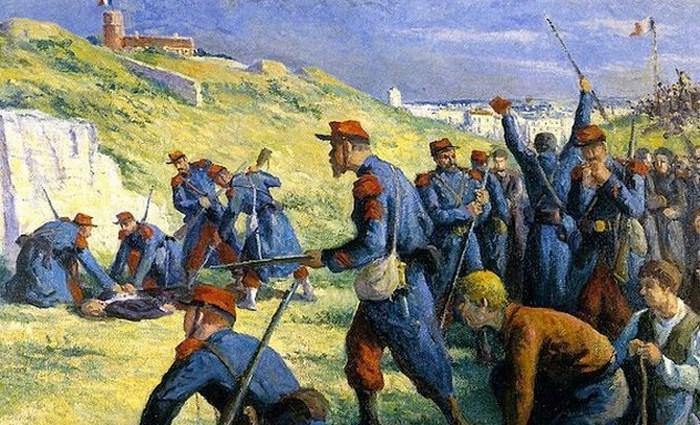 Парижская коммуна - первый в истории пример власти рабочих.