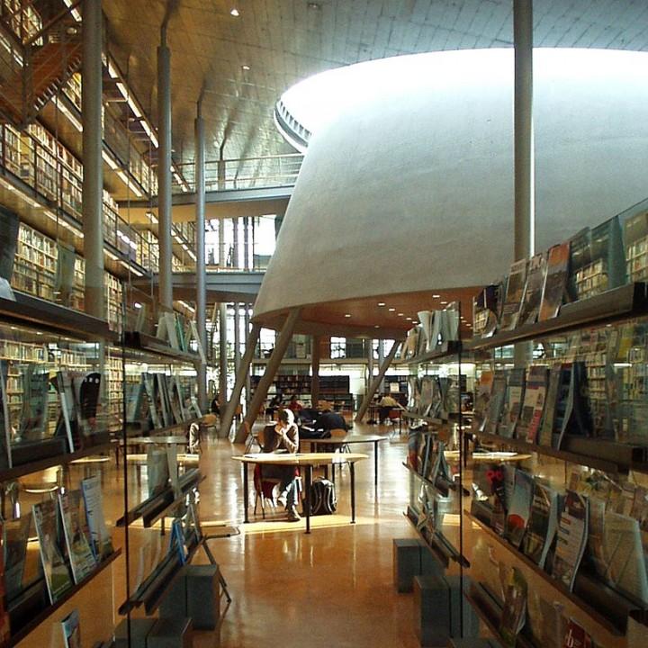 library07 Топ 10 самых красивых университетских библиотек мира