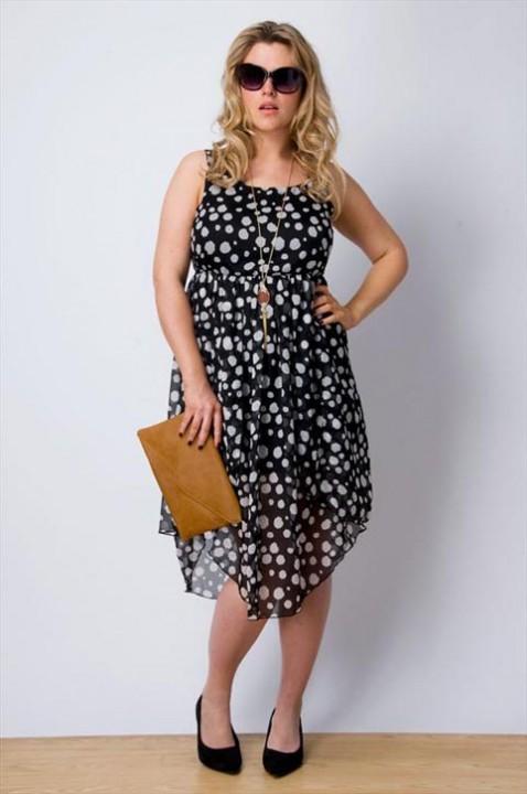 25d1c6e0346 Летние платья и сарафаны для полных женщин английского бренда Yours 2013