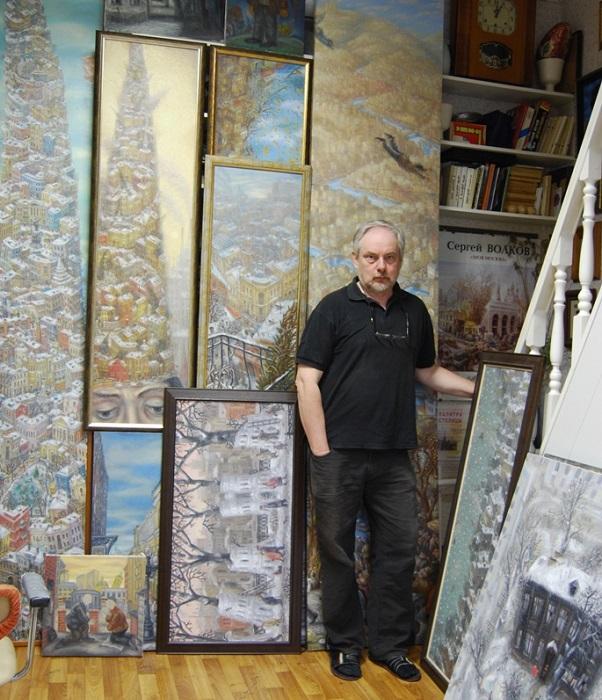 Сергей Волков - московский художник.