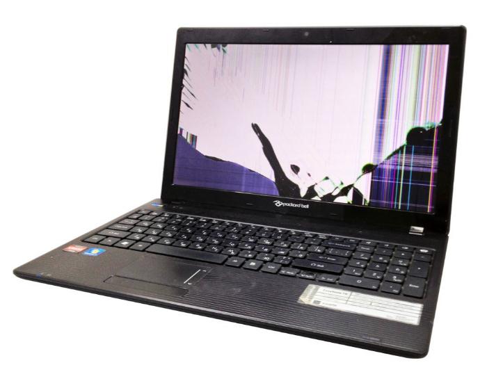 Правила пользования экраном ноутбука.