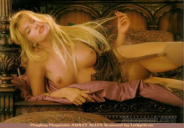 Playboy Magazine Playmate Rare Ashley Allen Promo Poste Pornpaw 1