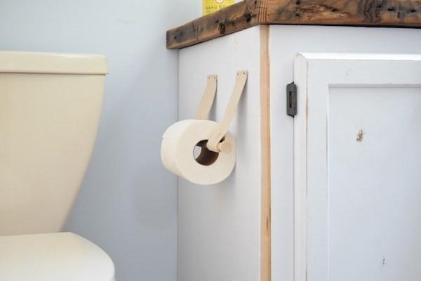 держатель для туалетной бумаги своими руками фото (14)
