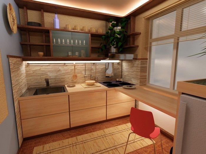 Как обустроить маленькую кухню: 12 простых советов - фото 5