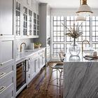 Потрясающий таунхаус в США с огромным окном на кухне