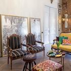 Квартира с антикварной мебелью и альфрейными росписями начала ХХ века