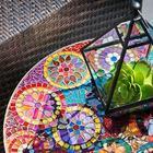 9 идей, как сделать предметы декора из битой плитки или посуды