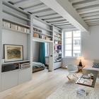 Светлая парижская квартира