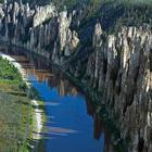 Ленские столбы - каменный лес на реке Лена