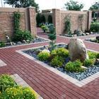 20 оригинальных идей по использованию кирпича в оформлении садового участка