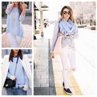 Голубой цвет в одежде: как носить и с чем сочетать актуальный оттенок сезона