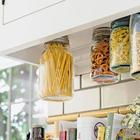 Как компактно хранить всякую всячину на кухне и делать это красиво