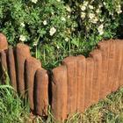 Заборчик для клумбы за копейки
