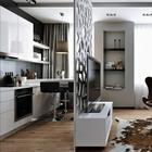 Мужская студия 33 м² в Москве
