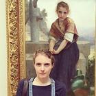 Посетители музеев, которые нашли своих двойников
