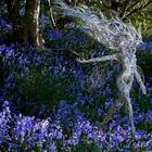 Завораживающие скульптуры фей из стальной проволоки от художника Робина Уайта