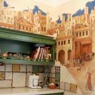 Рисуем и расписываем стены кухни как профи