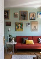Душевная маленькая квартира дизайнера с ретро нотками в Минске