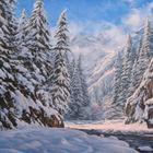 Реалистичные пейзажи Аркадия Олейника
