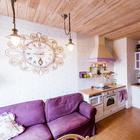 Квартира небольшого метража с яркими акцентами в Петербурге