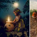 Локация vs. готовая фотография: нигерийский фотограф показывает закулисные кадры снимков, достойных Instagram