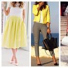 Ярче солнца: жёлтый цвет и его сочетания в гардеробе