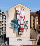 18 крутых стрит-арт-работ, которые открывают портал в другой мир