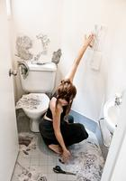Дизайнер превратила туалет в по-настоящему магическое место
