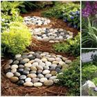15 великолепных идей, как с помощью обычных камней добавить красоты на садовый участок
