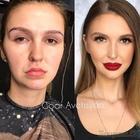 20 невероятных преображений при помощи макияжа от российского визажиста