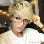 Женские стрижки на короткие волосы с разными челками: 20 стильных вариантов
