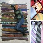 Украшение для мамы из старого галстука папы: мастер-класс