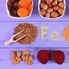 Растительные продукты питания, в которых много железа
