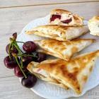 Обожаю эти треугольники! Вкуснятина в лаваше с творогом и вишней / Quick and tasty breakfast