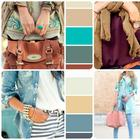 Правильное сочетание цветов в одежде девушек