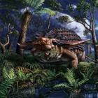Что палеонтологи нашли в желудке у динозавра