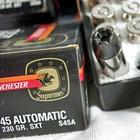 Разрушительные пули для пистолетов, от которых не спасет даже бронежилет