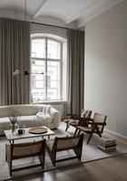 Элегантная современная квартира шведского архитектора