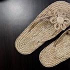 Летняя обувь из обычного джута
