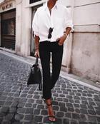 32 утонченных образа женщин, которые показали, как они одеваются на работу