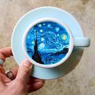 Кофейное искусство баристы из Кореи: хрупкий и красивый крем-арт
