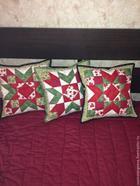 Лоскутный блок для декоративных подушек