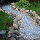 Интересная альтернатива пруду на вашем участке — сухой ручей