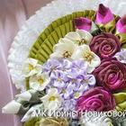 Делаем цветы из атласной ленты