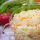 Капустный салат необычным способом