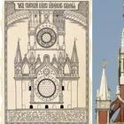 Как выглядели Кремлевские куранты во времена Ивана Грозного и Екатерины II: знаки зодиака, буквы, Солнце и Луна