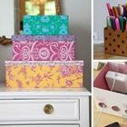 25 идей, после которых не захочется выбрасывать картонные коробки