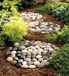 Идеи использования камней в дизайне дома и сада